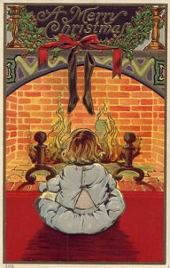 Vintage Christmas Card027